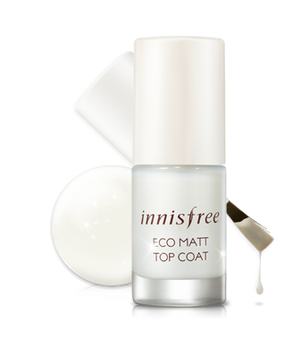Sơn lỳ Innisfree Eco Matte Top Coat