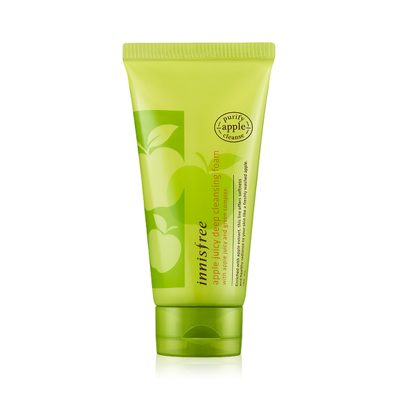 SRM Innisfree Apple Juicy Deep Cleansing Foam (150 ml)