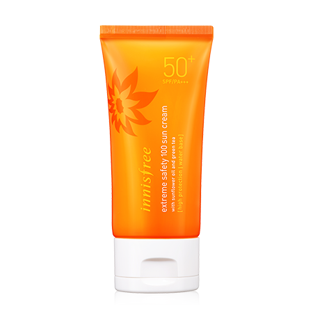 Innisfree extreme safety 100 sun cream (spf50, PA+++)