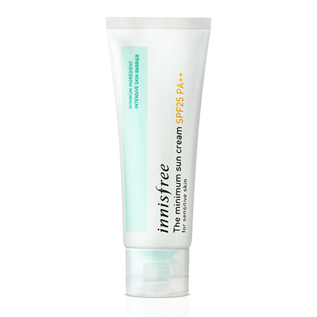 Minimum sun cream oil-free daily face protector