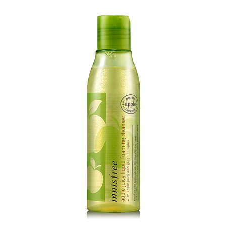 SRM Innisfree Apple Juicy Liquid Foaming Cleanser (150ml)