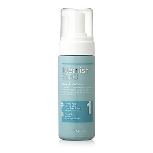 Clean Face Blemish Zero Bubble Foam Cleanser