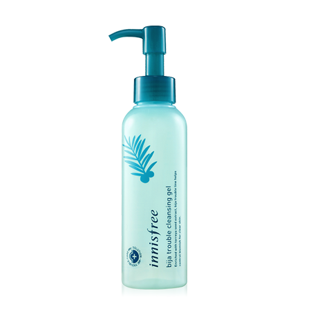 Tẩy trang Innisfree jejubija trouble cleansing gel