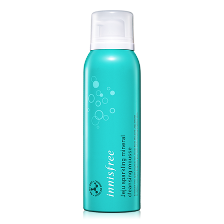 Innisfree Jeju Sparkling Mineral Cleansing Mousse (120ml)