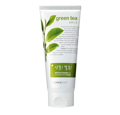 Sữa rửa mặt Phyto Powder In Cleansing Foam - Green Tea
