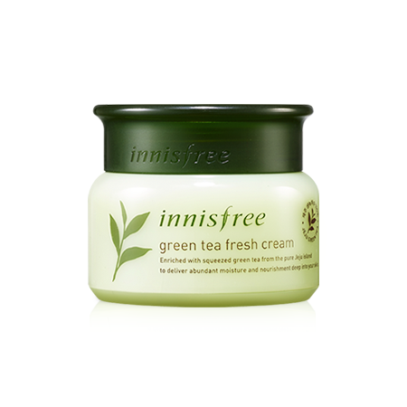 Green Tea Fresh Cream Innisfree – da dầu