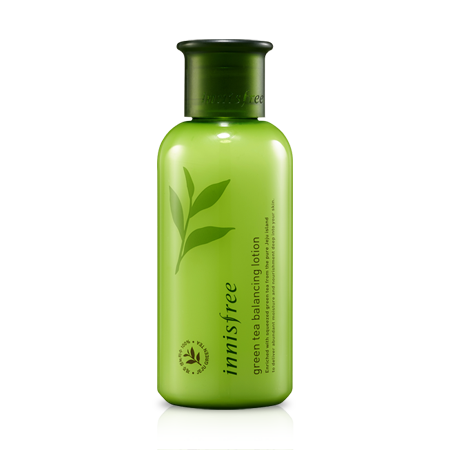 Green Tea Balancing Lotion Innisfree – da thường