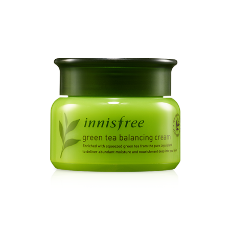 Green Tea Balancing Cream Innisfree – da thường