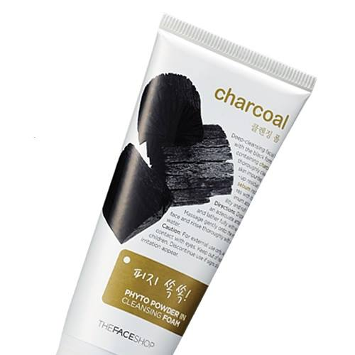 Charcoal Phyto Powder In Cleansing Foam (SRM than)