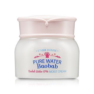 Kem Etude House Pure water baobab moist cream