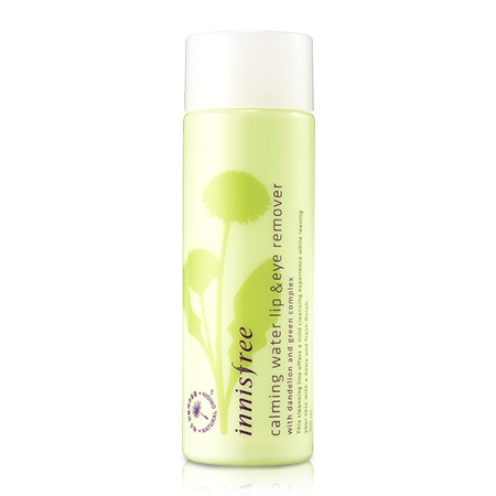 Innisfree calming water lip&eye remover (100ml)