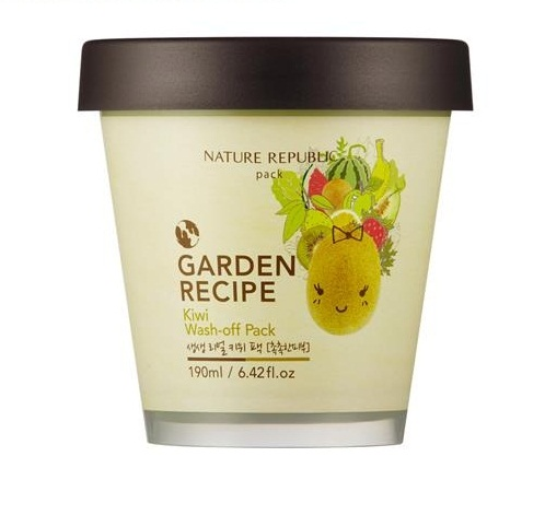 Garden Recipe Kiwi Wash-Off Pack