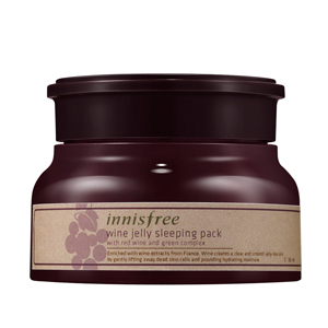 Mặt nạ ngủ Innisfree Wine Jelly Sleeping mask (80ml)