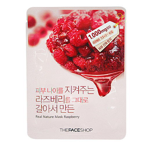 Real Nature Mask Raspberry - Mâm Xôi