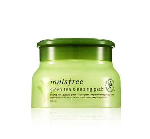Mặt nạ ngủ Green Tea Sleeping Pack (80ml)