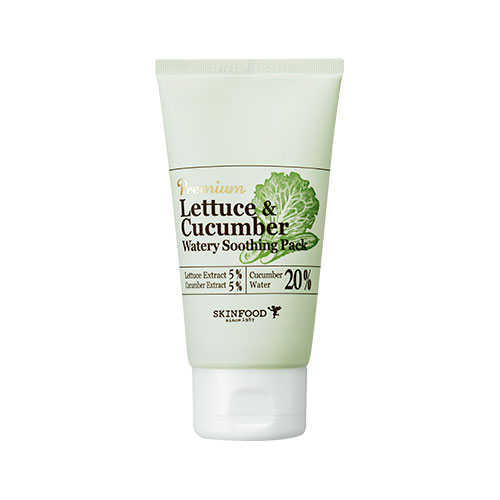 Premium Lettuce & Cucumber Watery Soothing Pack